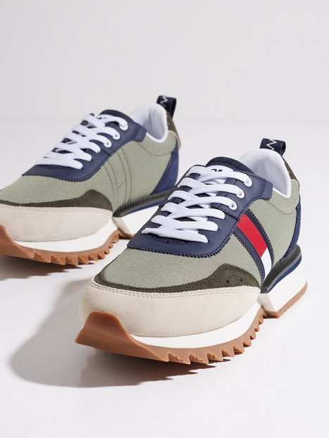 Tommy Jeans Abo Cleated Tommy Jeans Snk Sneakers Green