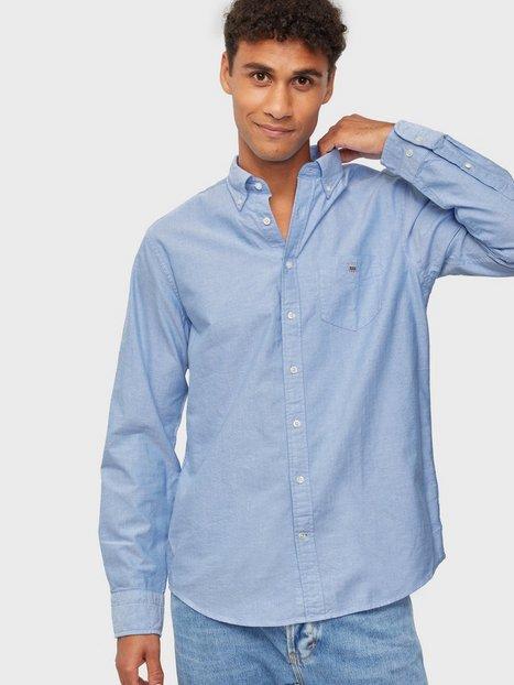 Gant Reg Oxford Bd Skjorter Blue