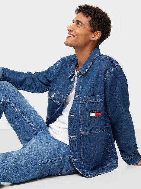 Tommy Jeans Boxy Shirt Jacket AE731 Svmbr Jakker & frakker Denim