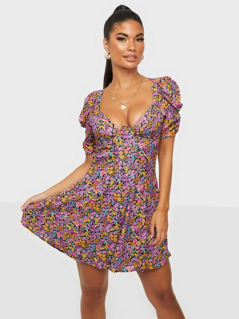 For Love & Lemons Claude Mini Dress Skater kjoler