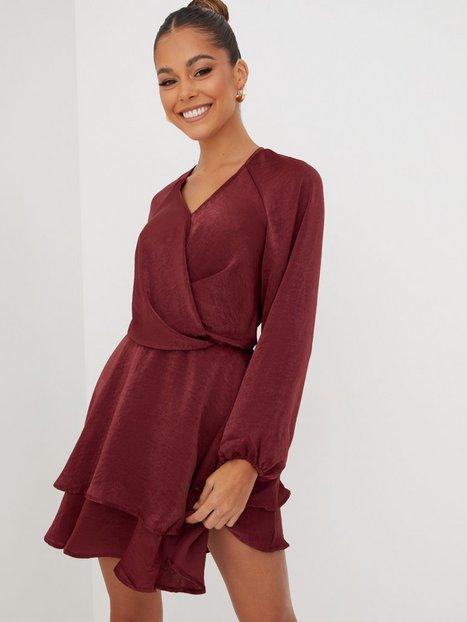 Only Onlcarrie Ls Sateen Dnm Dress Bin Langærmede kjoler