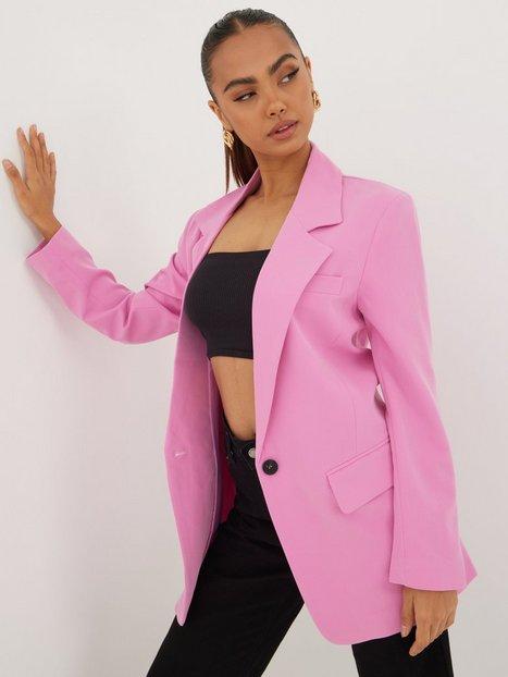 Only Onllana-Berry L/S Ovs Blazer Tlr No Blazere Fuchsia Pink