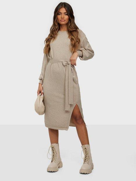 Vila Vievie Detail L/S Knit Dress/Su Langærmede kjoler