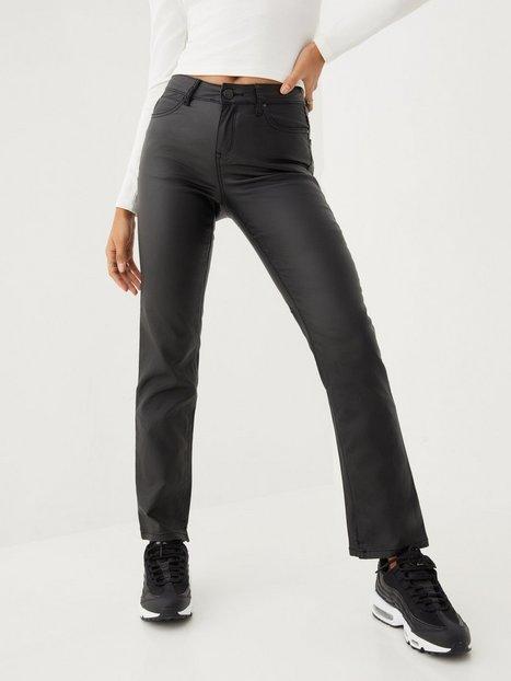 Vila Vicommit Coated Rw Straight Pant/Ln Straight fit