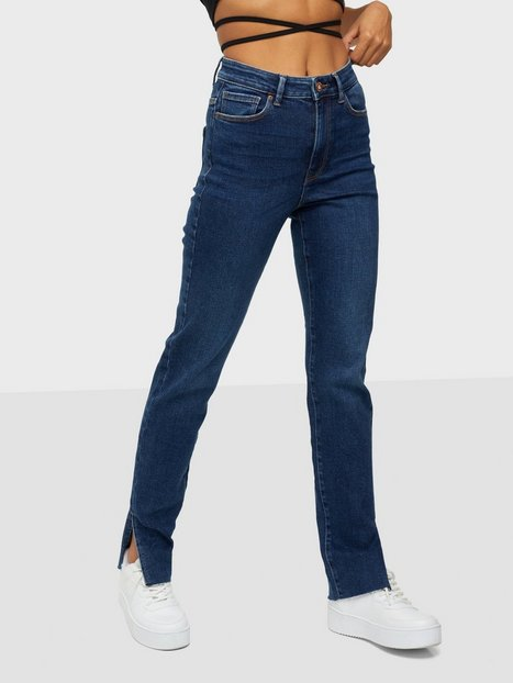 Pieces Pcemi Hw Skinny Slit Jeans Mb Bc Skinny fit