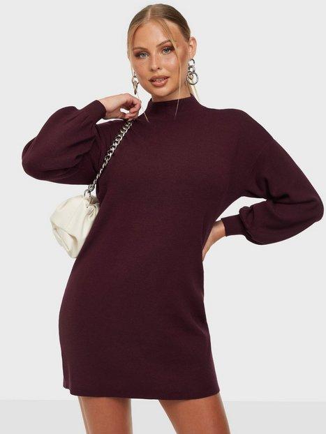 Vero Moda Vmnancy Ls Funnelneck Dress Ga Boo Langærmede kjoler Port Royale