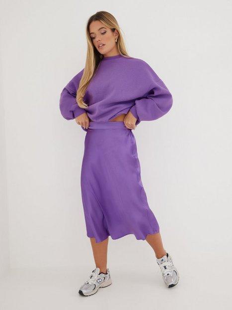 Vero Moda Vmane Hw Calf Skirt Wvn Ga Midi nederdele