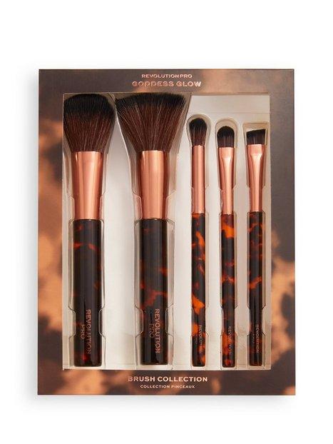 Revolution Pro Goddess Glow Brush Collection Redskaber & tilbehør