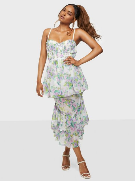For Love & Lemons Meadow Maxi Dress Maxikjoler