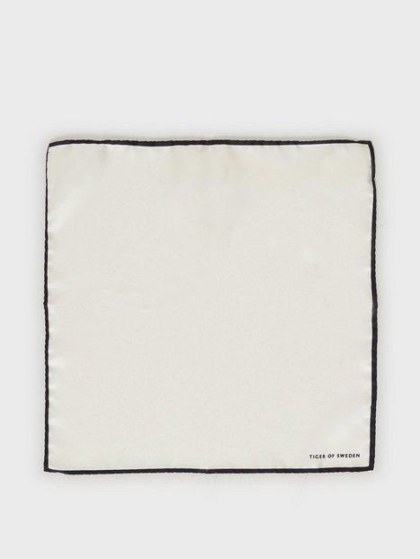Tiger of Sweden Penche Lommetørklæder Pure White mænd køb billigt