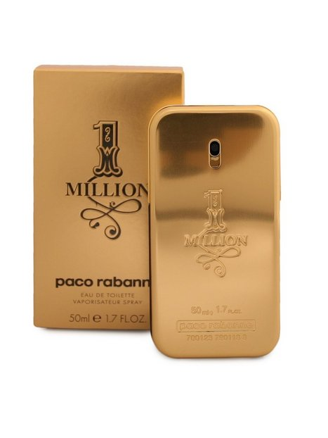 Paco Rabanne 1 Million Edt 50 ml Parfumer Transparent - herre