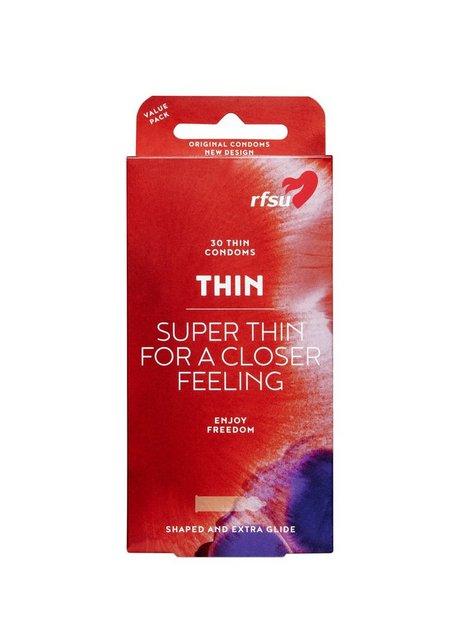 RFSU Thin Condoms 30-pack Kondomer