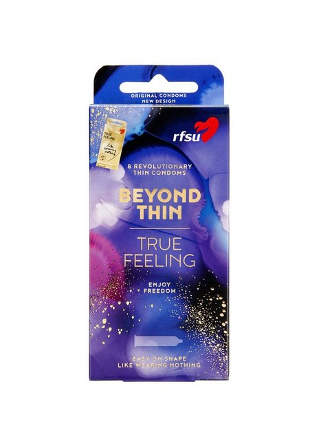 RFSU Beyond Thin Condoms 8-pa Kondomer