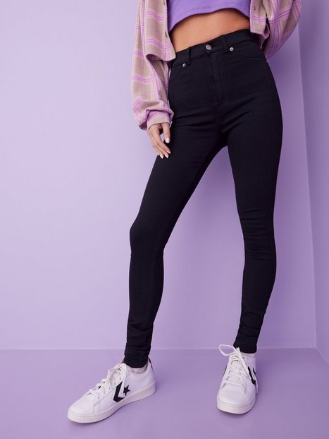 Dr Denim Solitare Leggings Svart