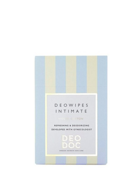 DeoDoc Deowipes Intim Intimpleje Violet Cotton