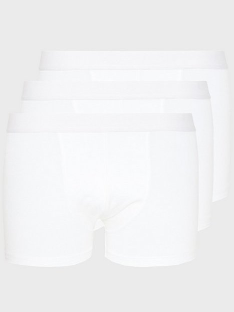 Bread & Boxers 3-Pack Boxer Brief Boxershorts Hvid