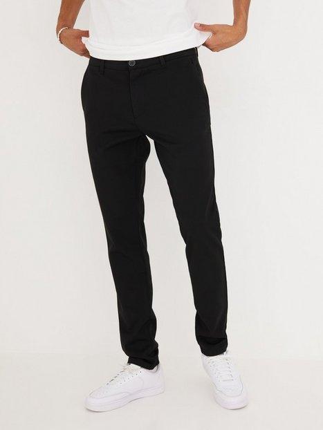 Tailored Originals Pants TOFrederic Bukser Black - herre