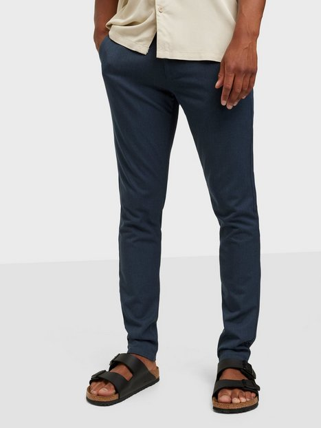 Tailored Originals Pants TOFrederic Bukser Ombre Blue - herre