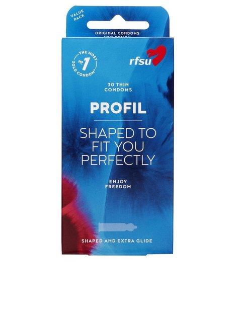 RFSU The Original Profil Condom 30 Pack Intimprodukter Transparent mand køb billigt