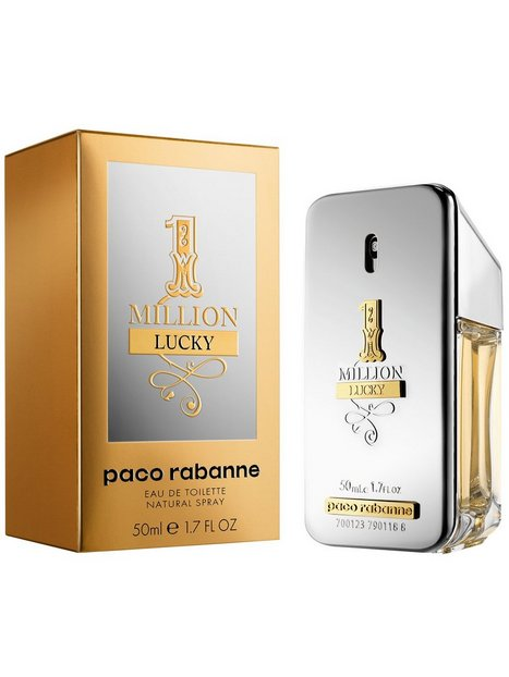 Paco Rabanne One Million Lucky Edt Parfumer Transparent - herre