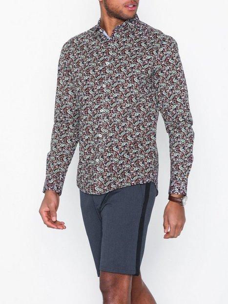 Tailored Originals Kelan LS Shirt Skjorter Insignia Blue mand køb billigt