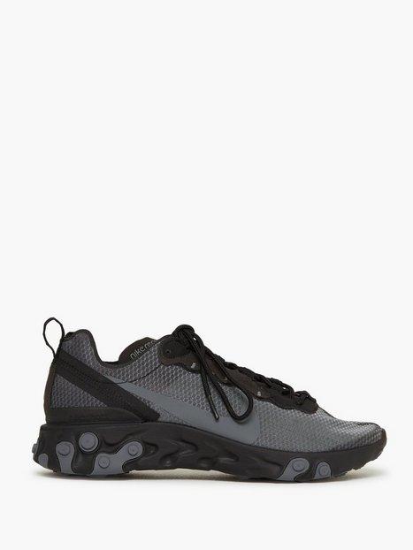 Nike Sportswear Nike React Element 55 Se Sneakers Black mand køb billigt