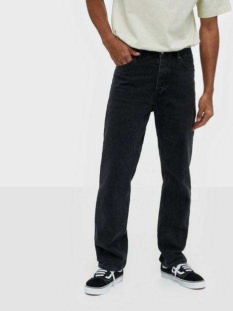 Dr Denim Dash Jeans Black - herre