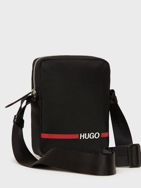 Hugo Record Tasker Black - herre