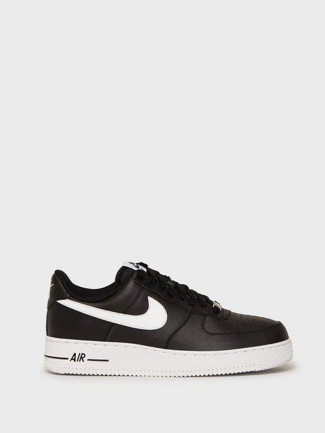 Nike Sportswear Air Force 1 '07 AN20 Sneakers Black White mand køb billigt