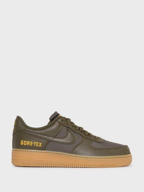 Nike Sportswear Air Force 1 Gtx Sneakers Olive - herre