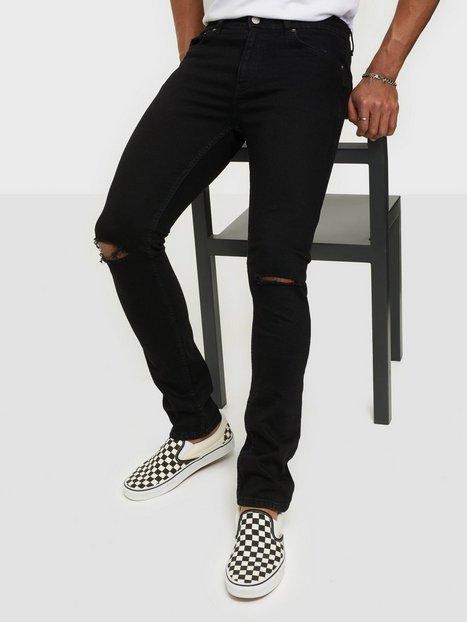 Dr Denim Chase Ripped Knees Jeans Black