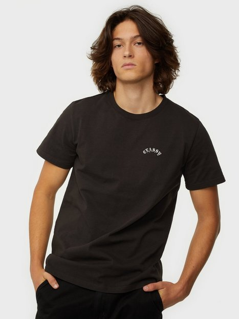 THE CLASSY ISSUE 90 Tee T-shirts & undertrøjer Washed Black