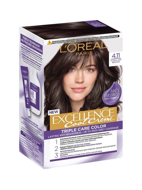 L'Oréal Paris Excellence Cool Creme Hårfarve Ultra Ash Brown