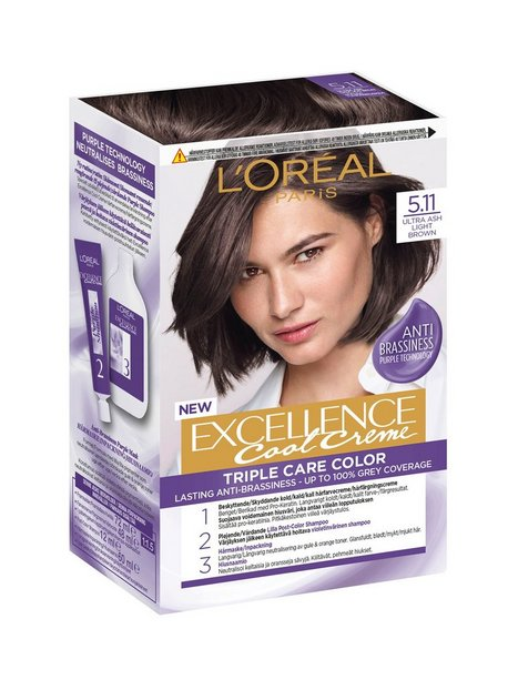 L'Oréal Paris Excellence Cool Creme Hårpleje & styling Ultra Ash Light Brown