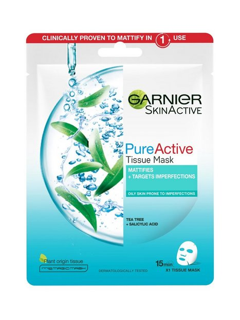 Garnier Tea tree tissue mask Ansigtsmasker