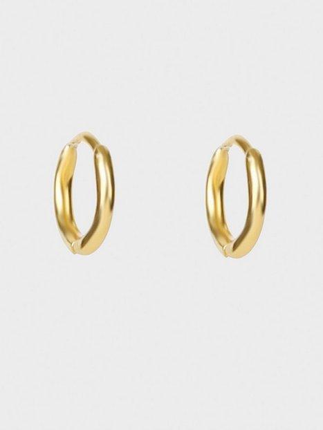 Syster P Mini Hoop Earrings Øreringe Guld