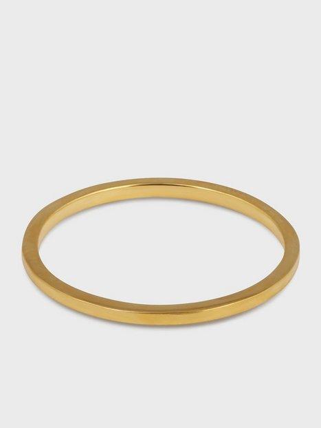 Syster P Tiny Plain Ring Ringe Guld