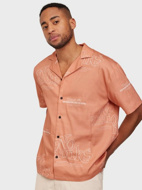 Dr Denim Madi Shirt Skjorter Terracotta