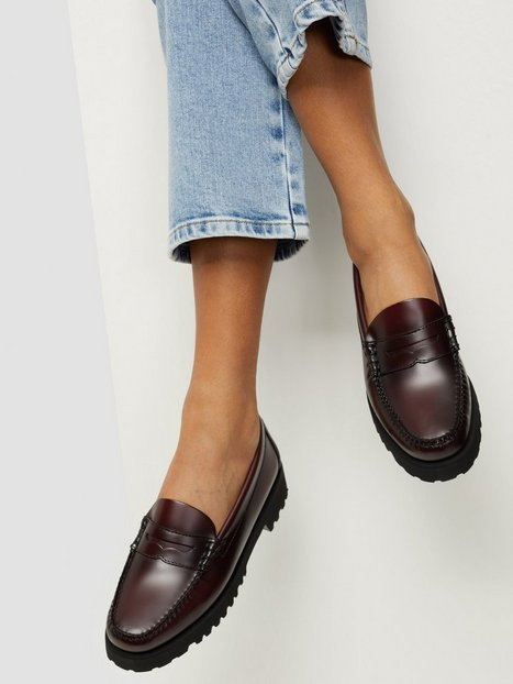 G.H Bass Gh Weejuns 90S Penny Loafers Wine