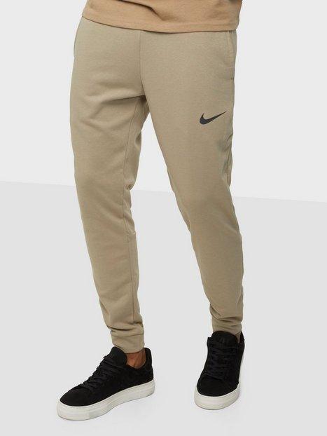 Nike M Nk Df Pnt Taper Fl Træningsbukser Khaki/Black