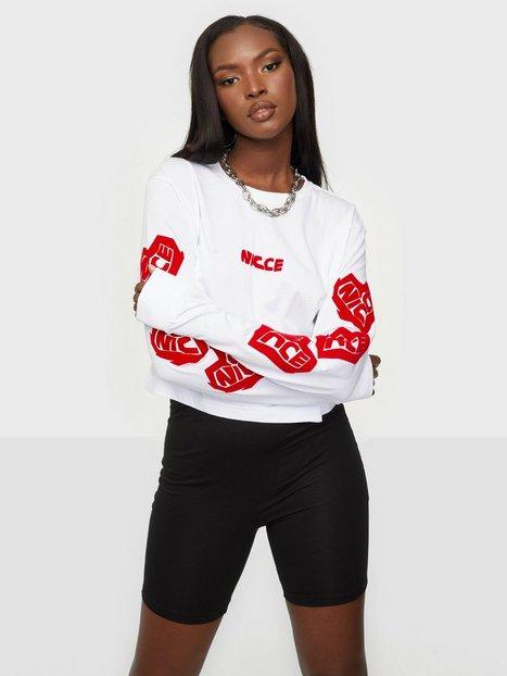 NICCE Heart Ls Cropped T-Shirt Langærmede toppe