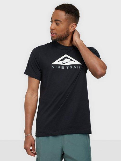 Nike Sportswear U Nk Df Tee Ss Trail Trænings t-shirts Black
