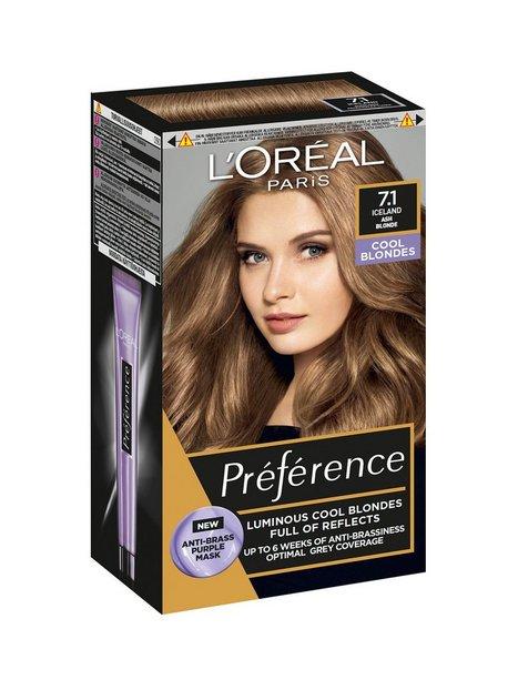 L'Oréal Paris Préférence 7.1 Cool Blonds Iceland Hårfarve