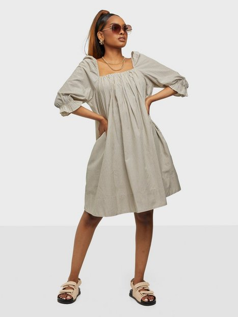 2NDDAY 2ND Tiana Stripe Loose fit dresses