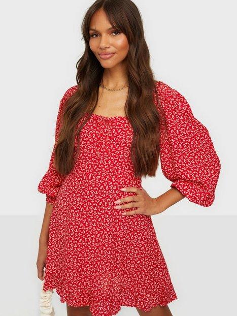 Faithfull the Brand Calla Mini Dress Langærmede kjoler