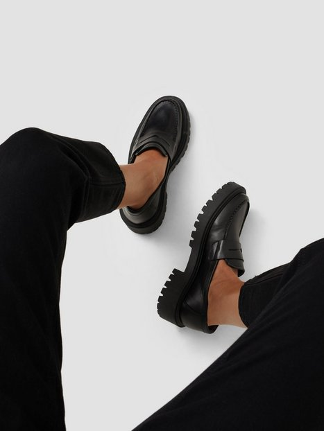 Duffy Chunky Leather Loafer Loafers