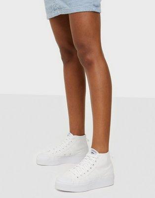 Adidas Originals Nizza Platform Mid W High Top Hvid