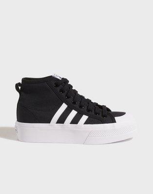 Adidas Originals Nizza Platform Mid W High Top Black
