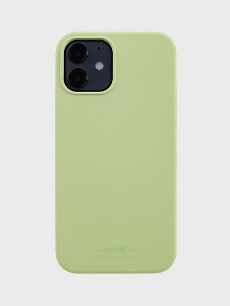 Holdit Silicone Case iPhone 12/12Pro Mobilcovere Kiwi