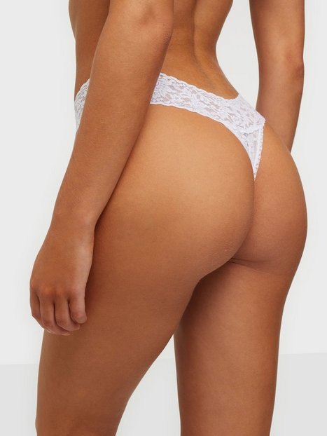 Hanky Panky Signature Lace Low Rise Thong String Vit